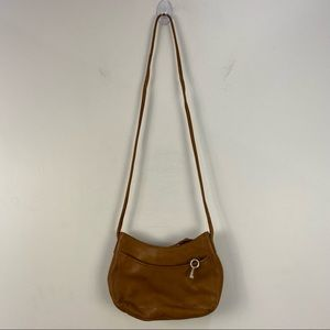 Fossil Brown Leather Small Crossbody Bag & Wallet